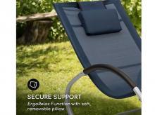 BLUMFELDT Westwood Rocking Chair, tmavomodré (GDMC2-Westwood) + záruka 3 roky!