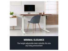 ONECONCEPT Multidesk Comfort, deska psacího stolu, 120x65 cm, Multiplex, Melamin, vlašský ořech + záruka 3 roky!