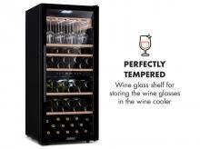 Vinotéka KLARSTEIN Barossa 102D police na sklenice na víno + záruka 3 roky!