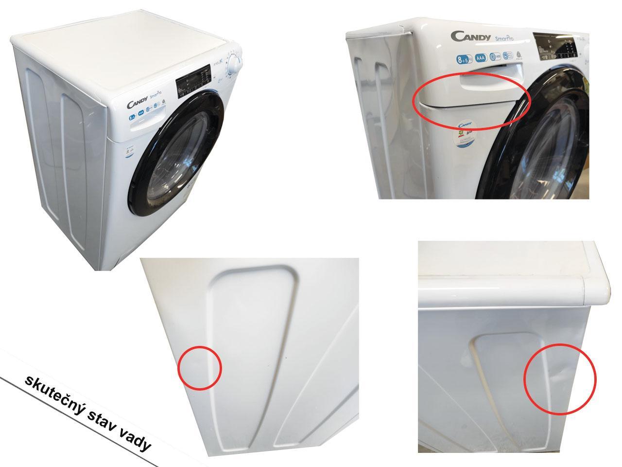 Pračka se sušičkou CANDY CSOW 4855TB/1-S