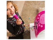 Karaoke reproduktor AUNA ScreenStar, růžový, se sadou CD + záruka 3 roky!