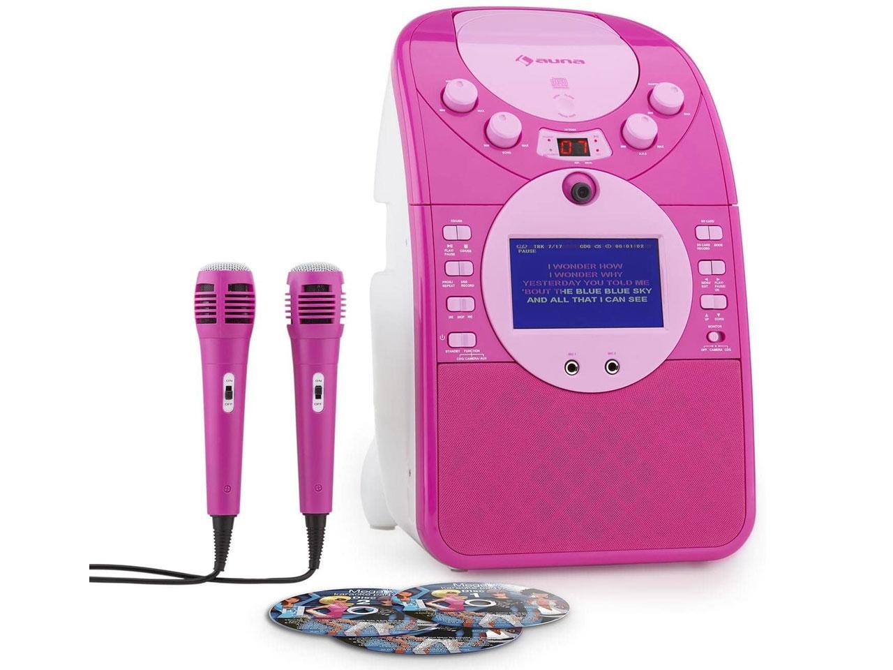 AUNA ScreenStar, růžový, se sadou CD + záruka 3 roky! + 100 Kč na dárky nebo další nákup   CHAT on-l