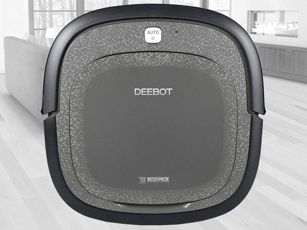 Robotický vysavač ECOVACS Deebot SLIM2, černý