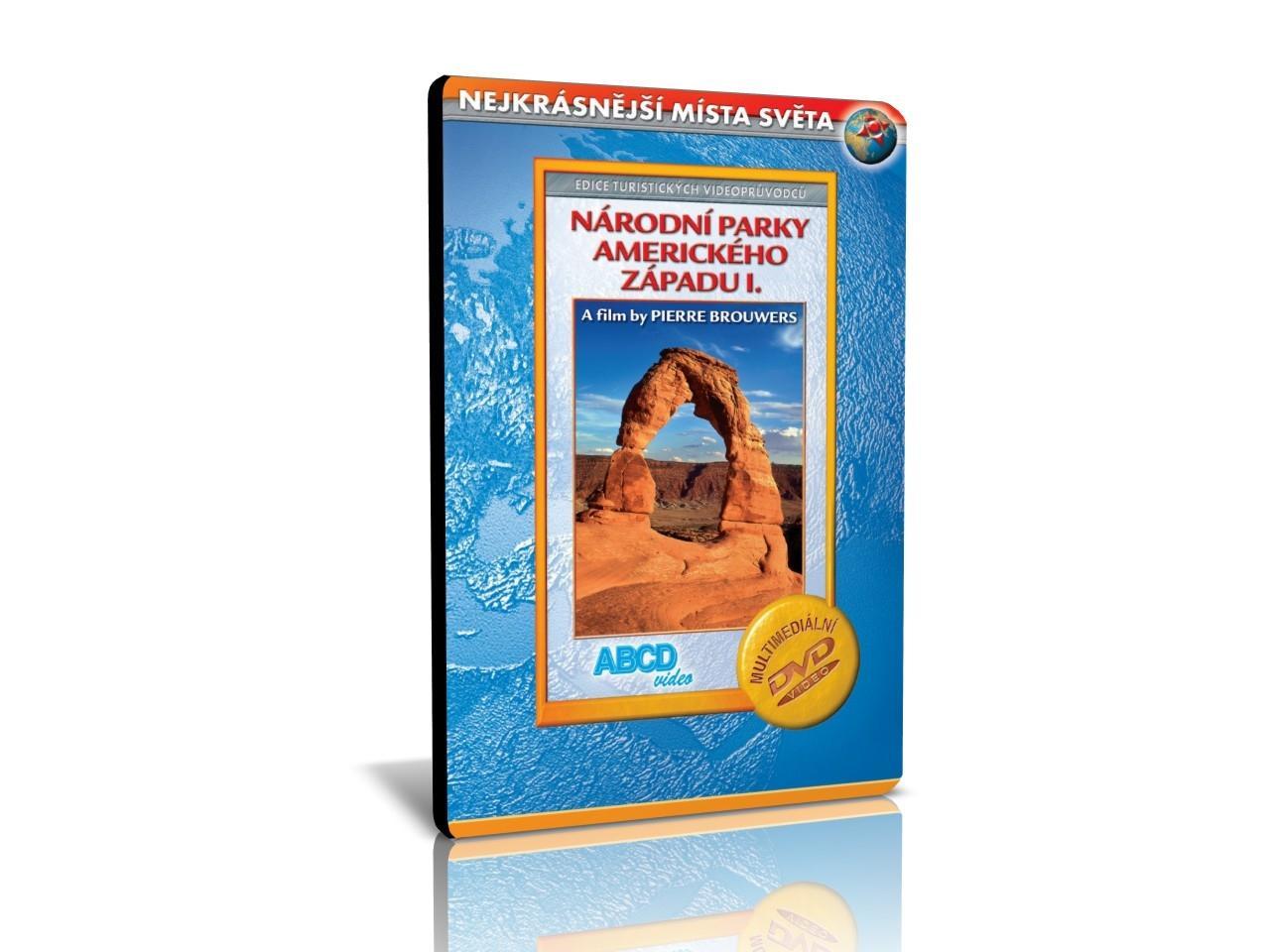 NEJKRÁSNĚJŠÍ MÍSTA SVĚTA: Národní parky amerického západu I. (MM DVD) | CHAT on-line podpora PO-PÁ 8-22.00!!