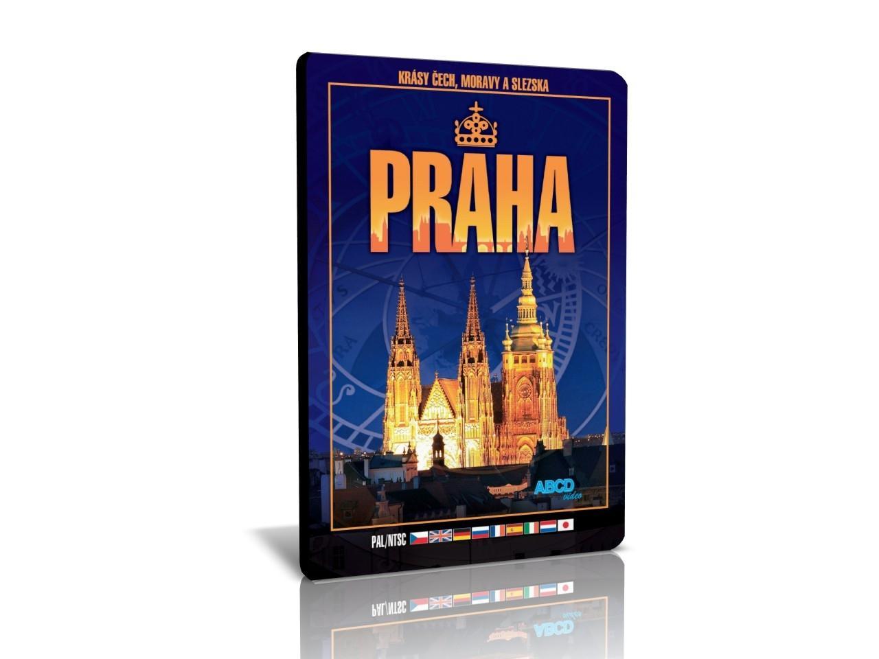 KRÁSY ČECH, MORAVY A SLEZSKA: Praha (DVD)