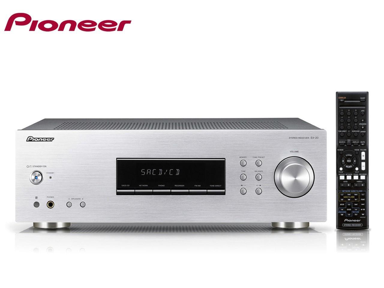 PIONEER SX-20-S + 200 Kč na dárky nebo další nákup | CHAT on-line podpora PO-PÁ 8-22.00!!