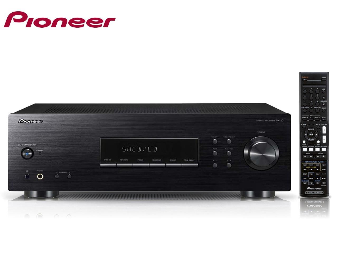 PIONEER SX-20-K + 200 Kč na dárky nebo další nákup | CHAT on-line podpora PO-PÁ 8-22.00!!