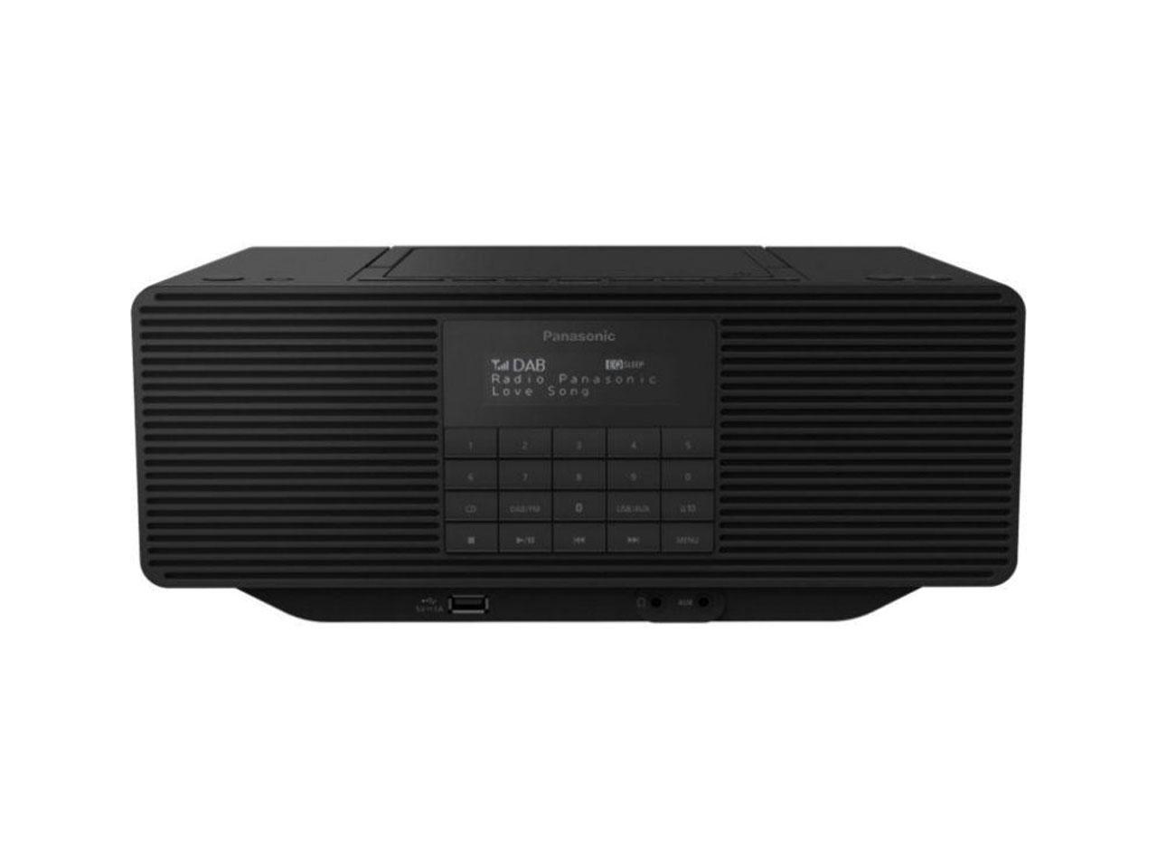 Přenosné audio s CD PANASONIC RX-D70BTEG-K