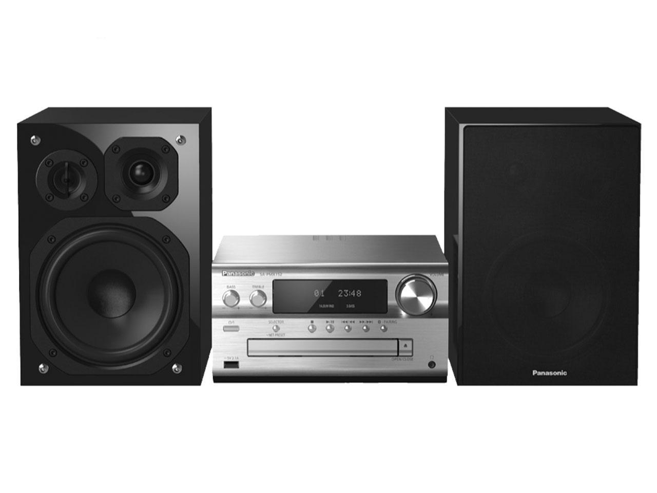 Hi-Fi systém PANASONIC SC-PMX152EG-S + 500 Kč na dárky nebo další nákup   CHAT on-line podpora PO-NE do 23 hodin!!
