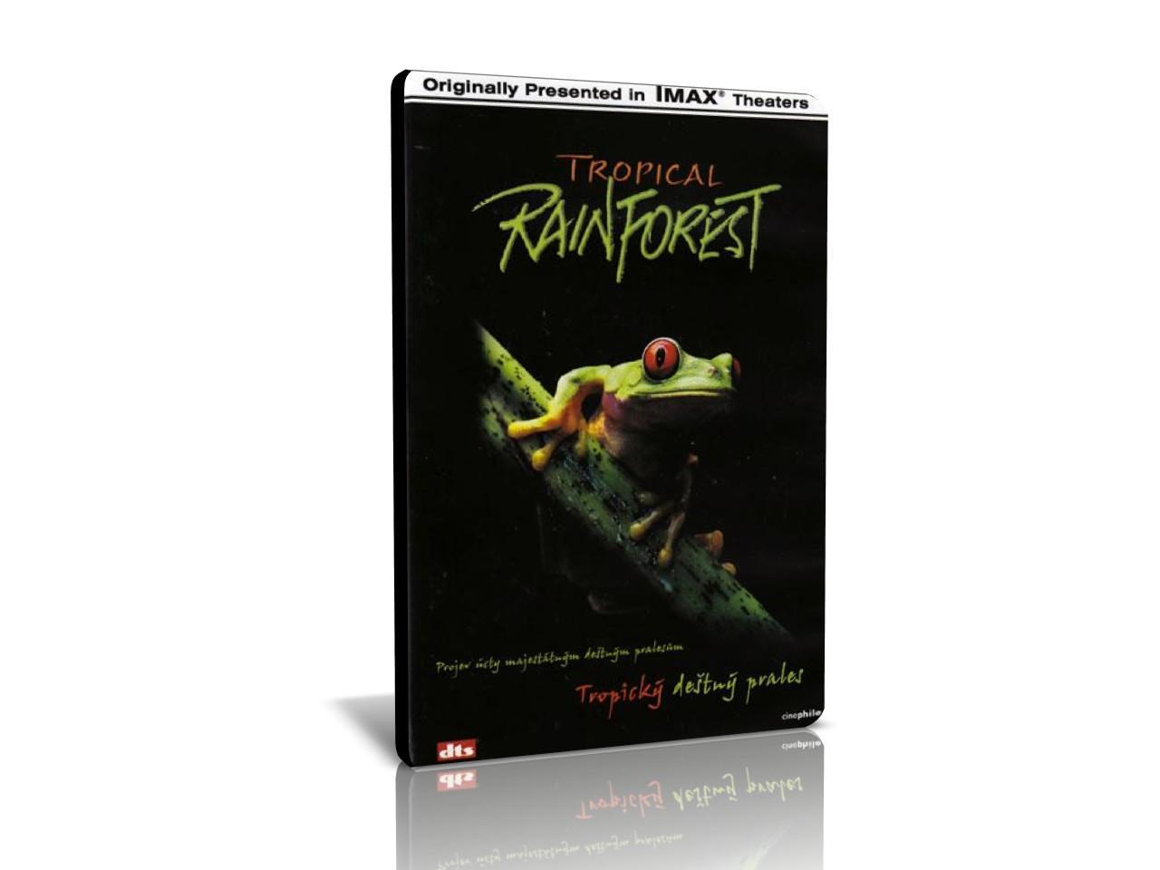 IMAX: Tropický deštný prales (DVD)