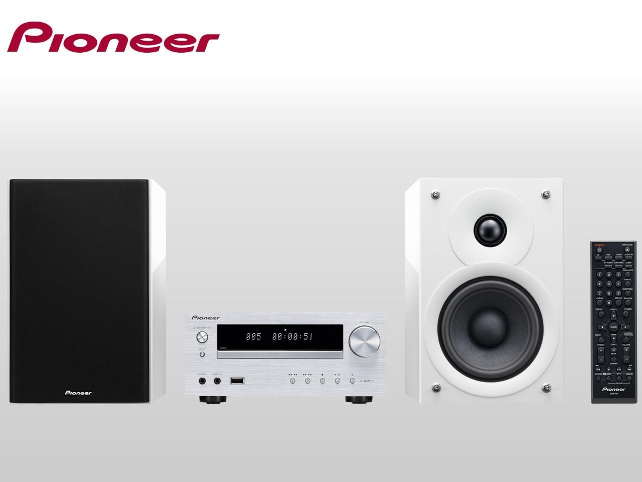 PIONEER X-HM51-W + 300 Kč na dárky nebo další nákup | CHAT on-line podpora PO-PÁ 8-22.00!!