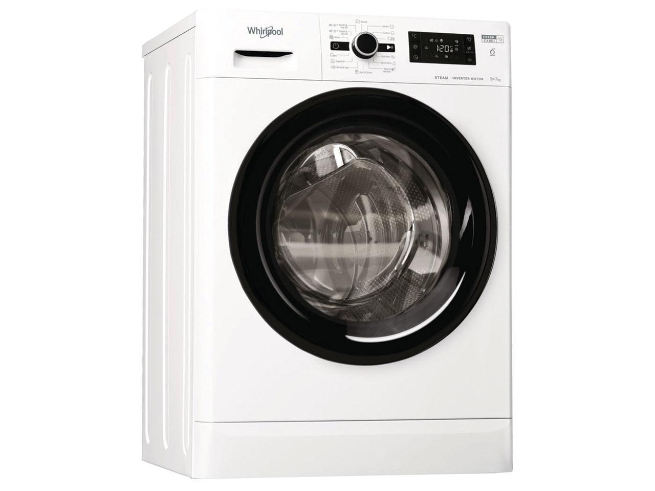 Pračka se sušičkou WHIRLPOOL FWDG 971682 WBV EE N