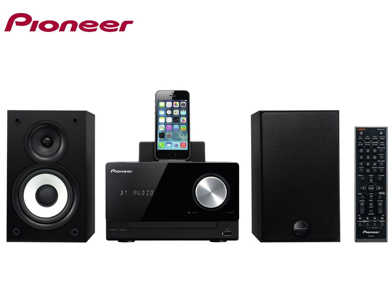 PIONEER X-CM42BT-K + 200 Kč na dárky nebo další nákup | CHAT on-line podpora PO-PÁ 8-22.00!!
