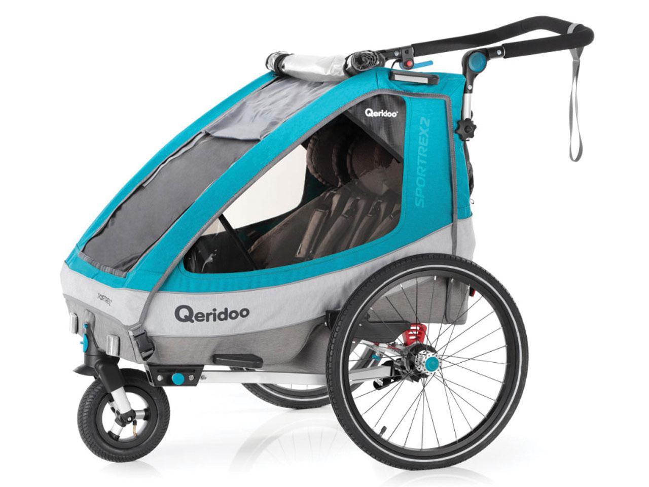 Cyklistický vozík QERIDOO Sportrex 2 2020 + AKCE CASHBACK 10%