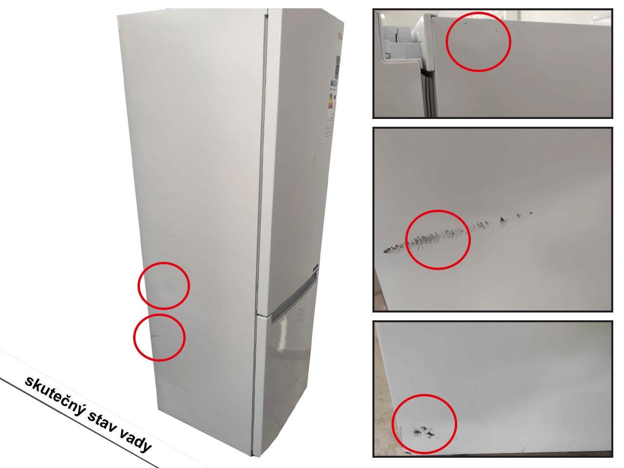 LG GBB61SWJZN + 10 let záruka na kompresor!