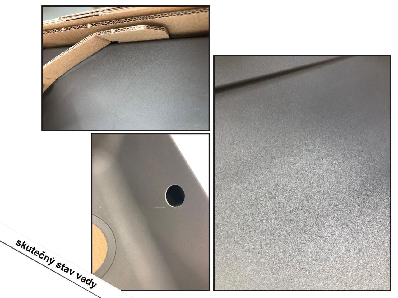 RESPEKTA Denver, 78 x 44 cm, šedý