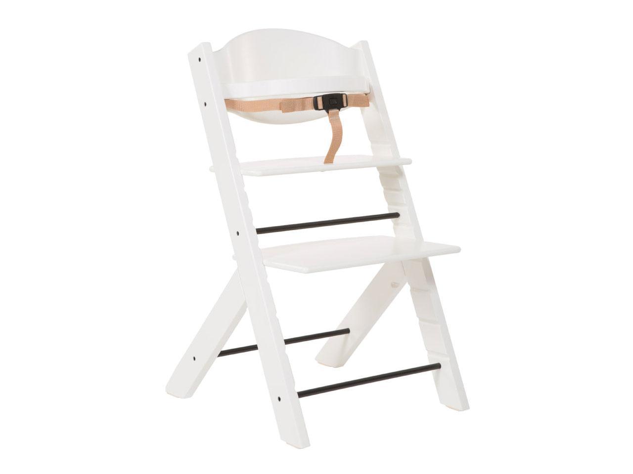 TREPPY Jídelní židlička, bílá