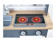 HAPE Kuchyňka se světlem a zvukem, šedá