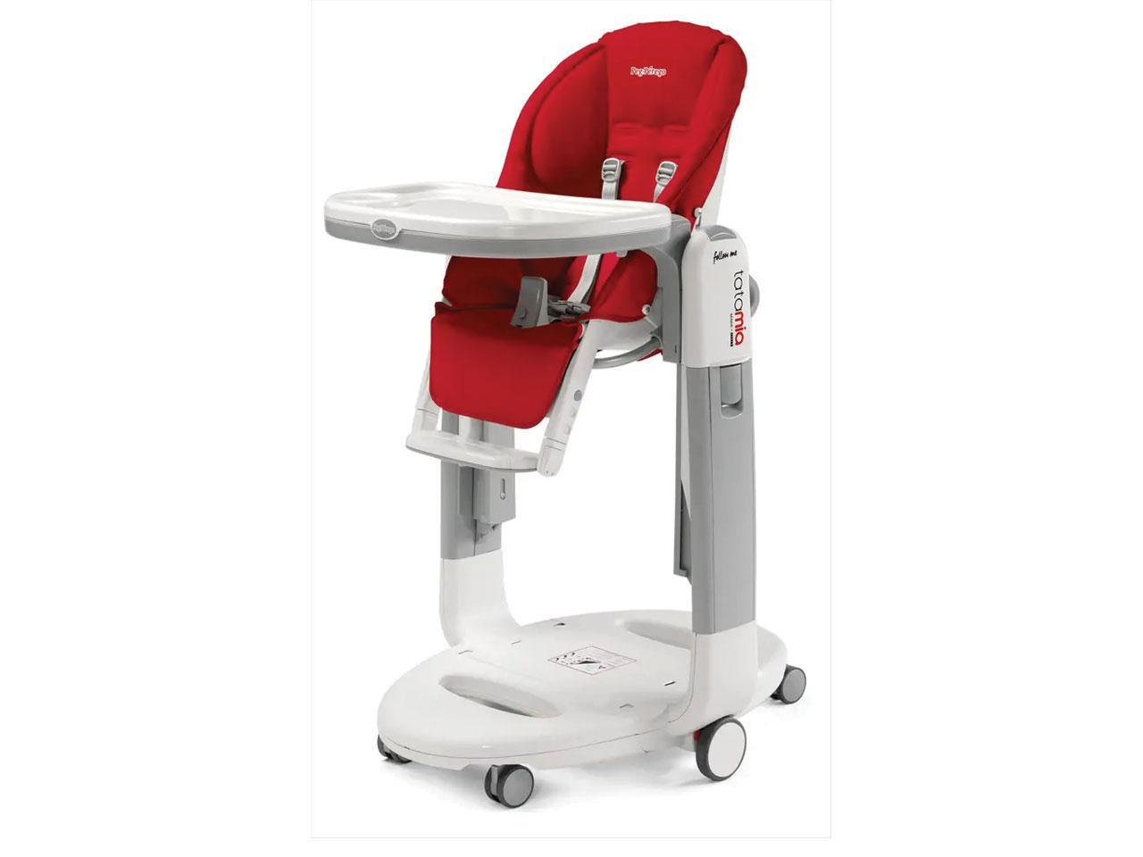 Jídelní židlička PEG PÉREGO Tatamia Follow Me Fragola 2021