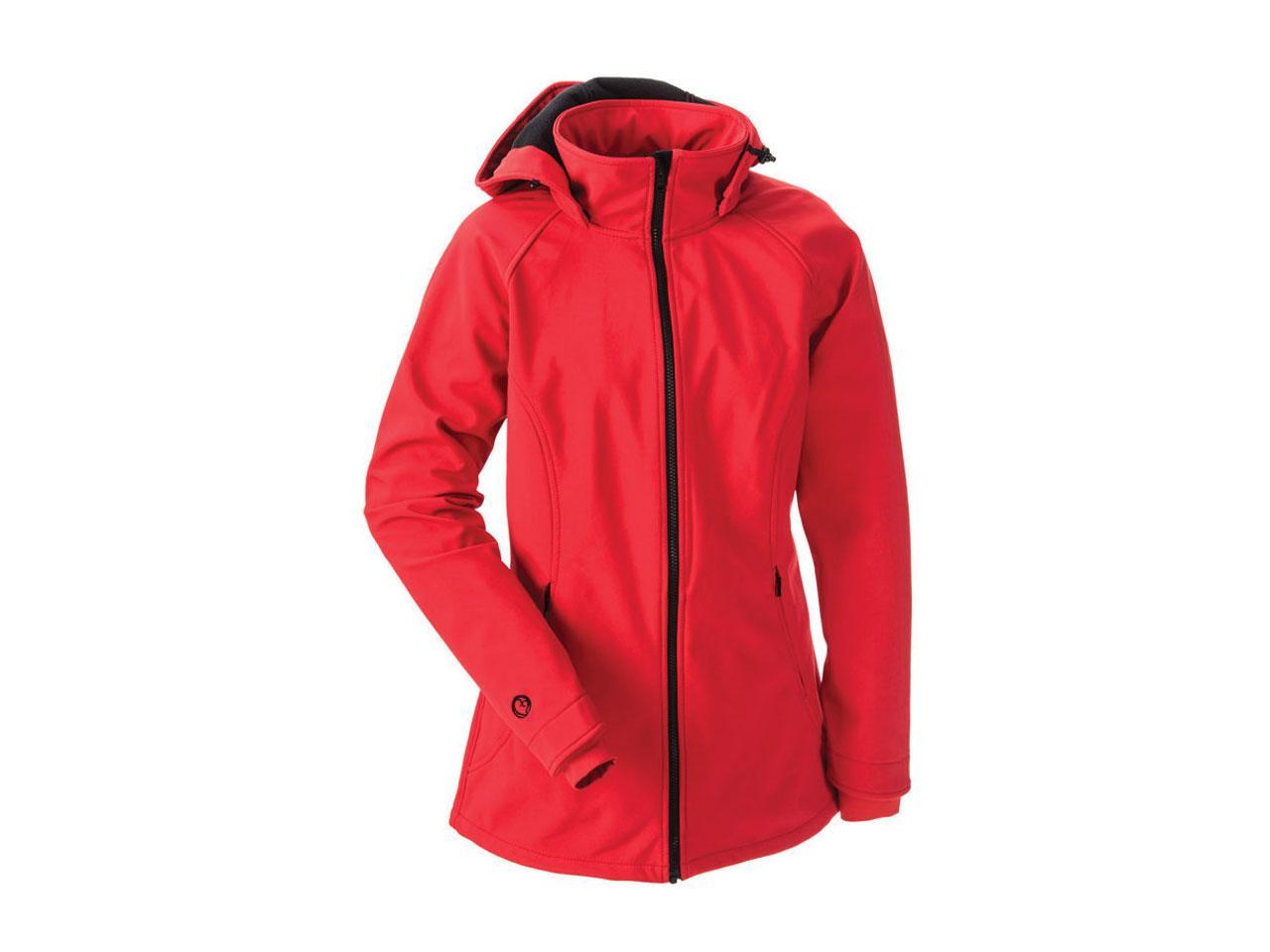 Těhotenská bunda MAMALILA Clickit, červená, velikost S