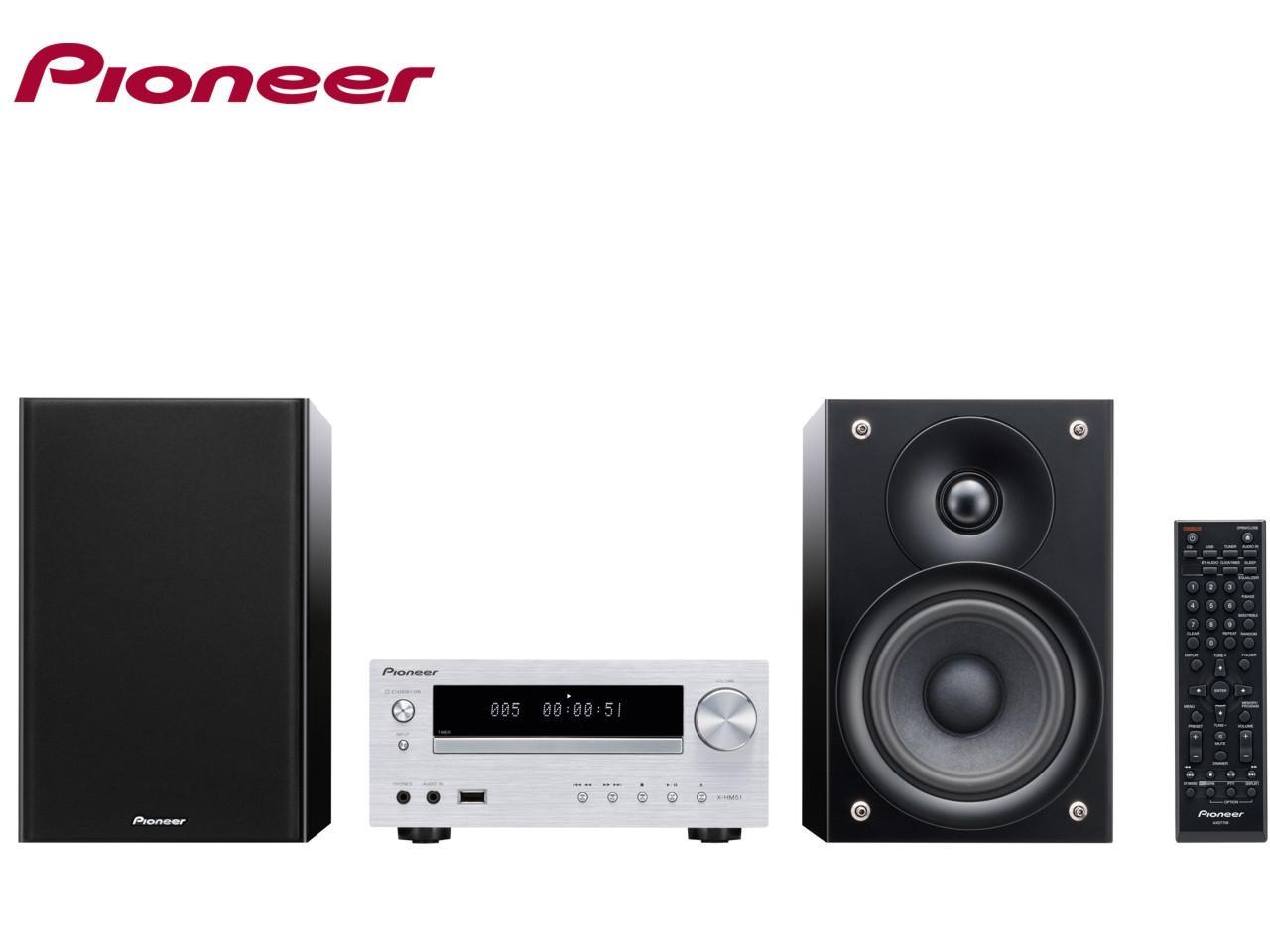 PIONEER X-HM51-S + 300 Kč na dárky nebo další nákup | CHAT on-line podpora PO-PÁ 8-22.00!!