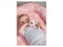 Hnízdečko pro miminko JOLLEIN Rainbow blush, růžová