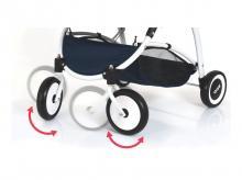 BRIO Kočárek pro panenky Spin, modrý 24901