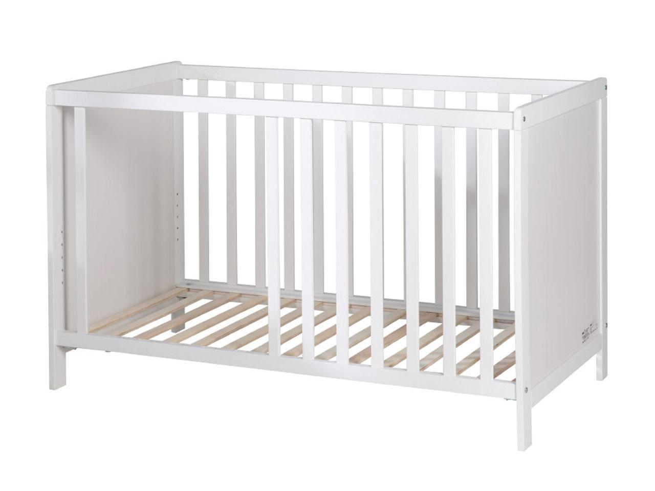 Dětská postýlka ROBA 60 x 120 cm, bílá