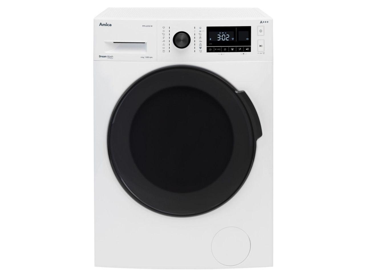 Automatická pračka AMICA PPS 62232 W + 300 Kč na dárky nebo další nákup | CHAT on-line podpora PO-NE