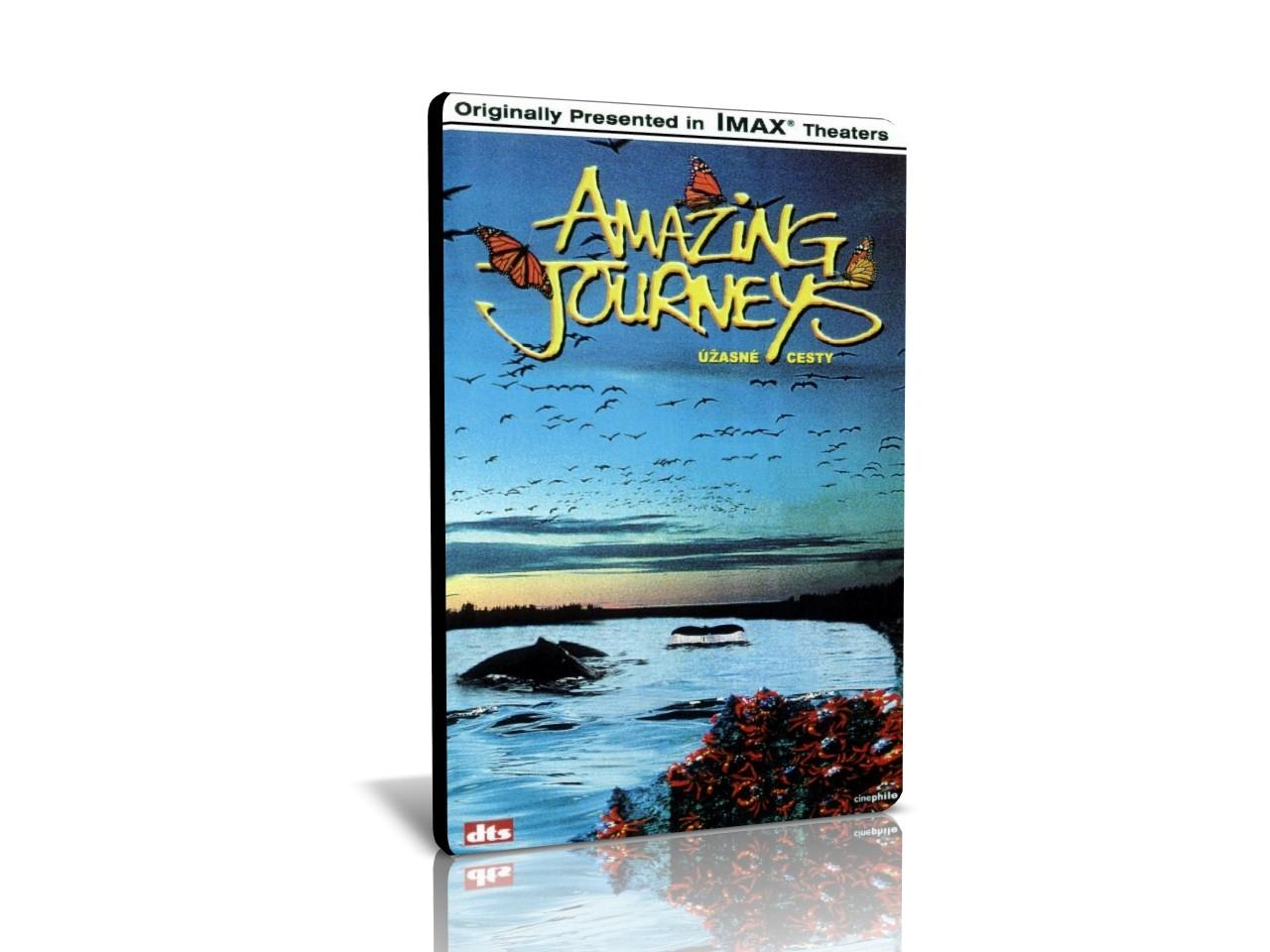 IMAX: Úžasné cesty (DVD)
