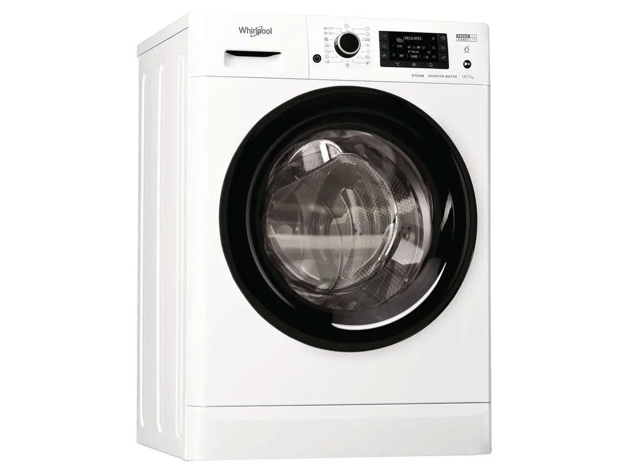 Pračka se sušičkou WHIRLPOOL FWDD 1071682 WBV EU N