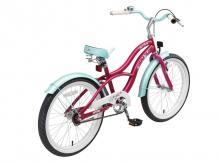 Dětské kolo BIKESTAR Premium 20 Cruiser Violett