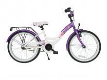 Dětské kolo BIKESTAR Premium Classic 20, lila/white