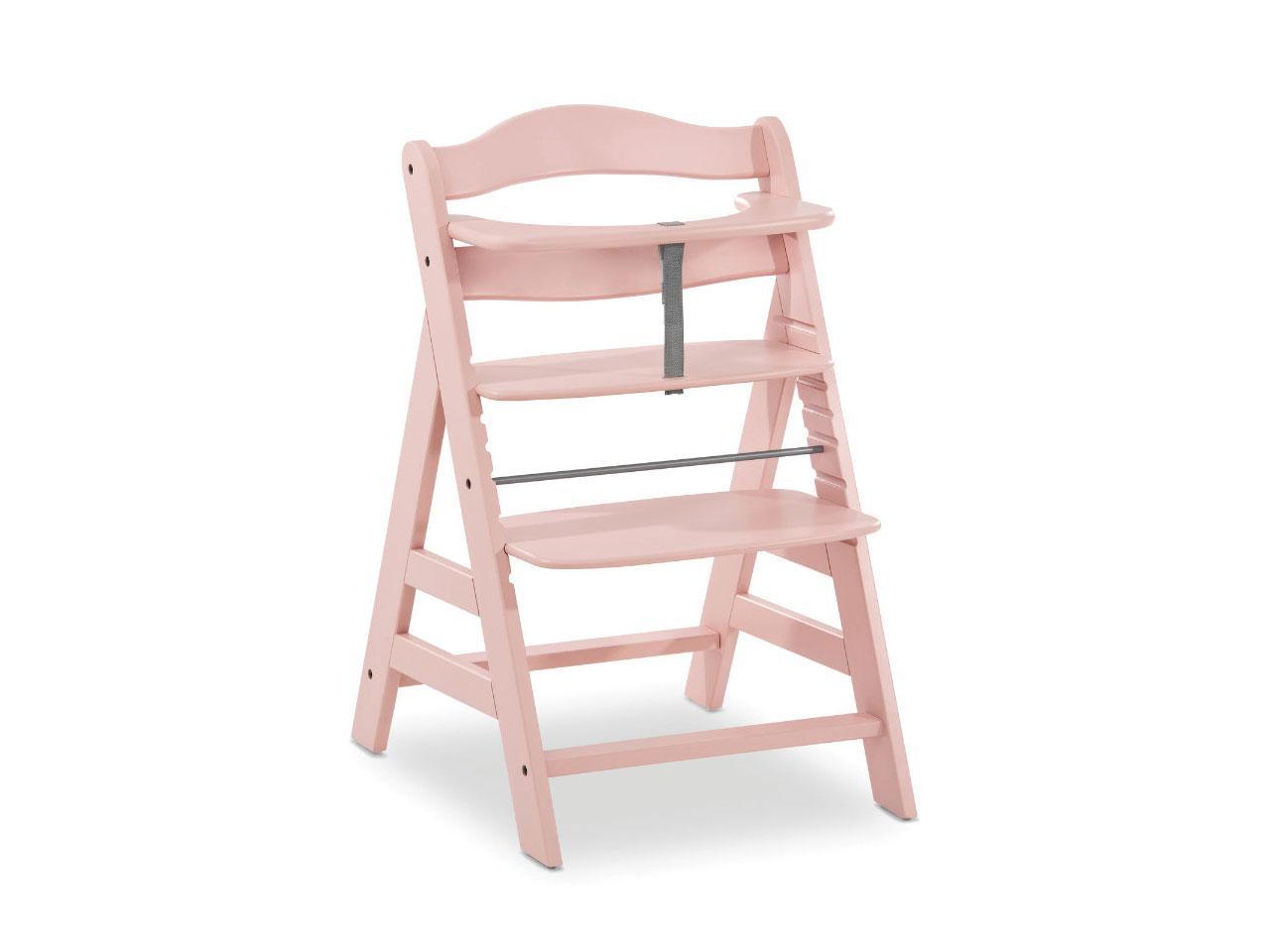 Jídelní židlička HAUCK Alpha Plus, růžová