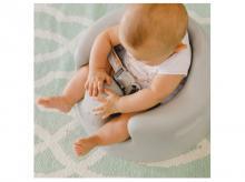 Jídelní židlička BUMBO Floor seat, šedá