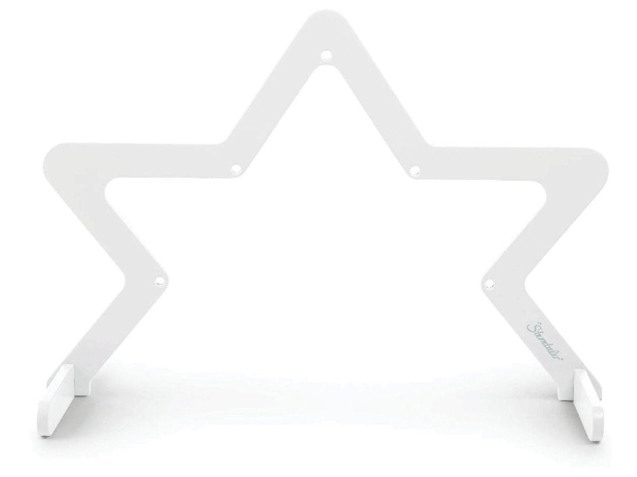 Hrazdička STERNTALER Play bow star, bílá