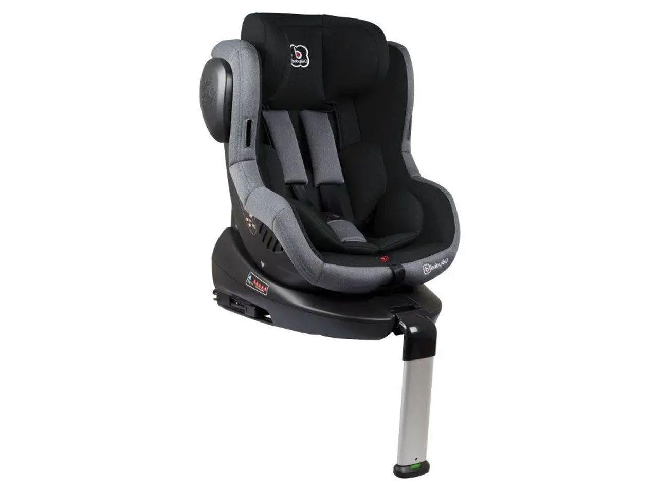 Autosedačka BABYGO ISO 360, černá