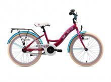Dětské kolo BIKESTAR Premium 20 Berry Turquoise