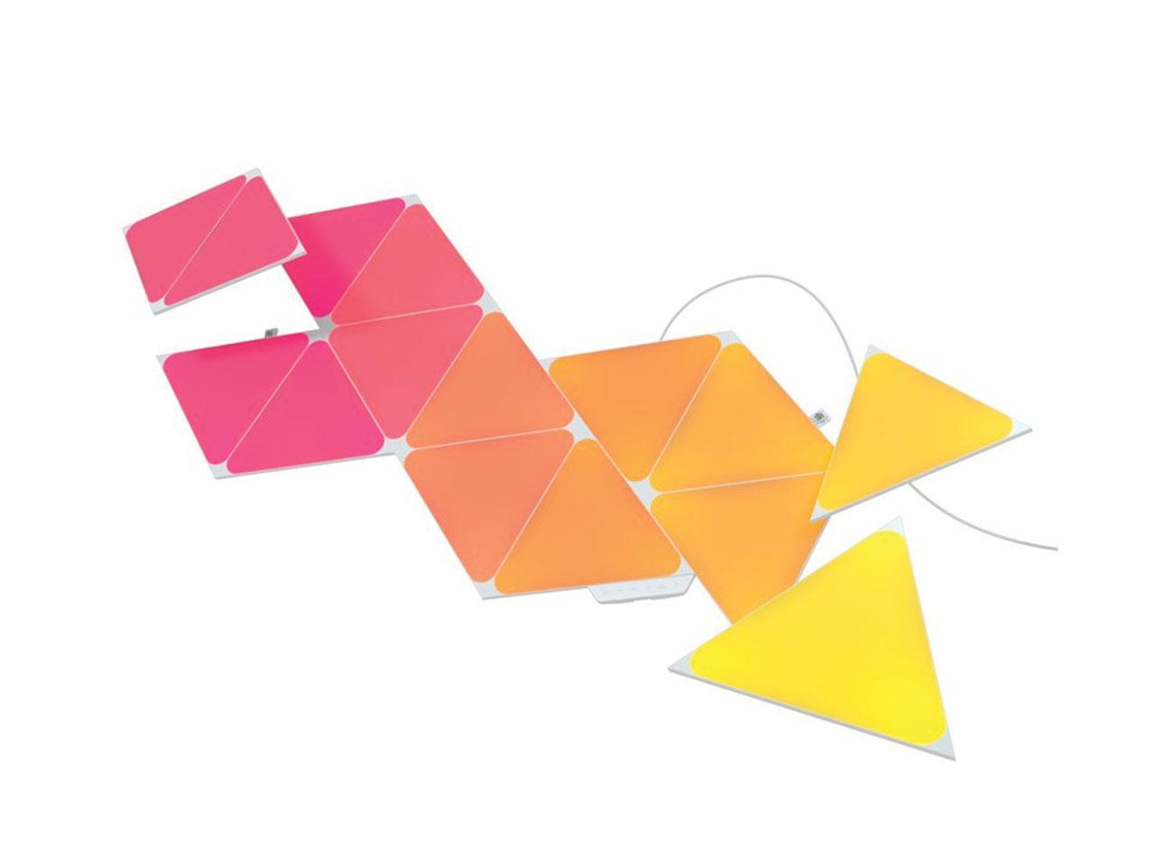 LED světlo NANOLEAF Shapes Triangles Starter Kit 15ks
