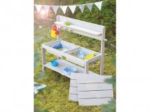 Dětská kuchyňka ROBA Outdoor Fun + 2 boxy, šedá