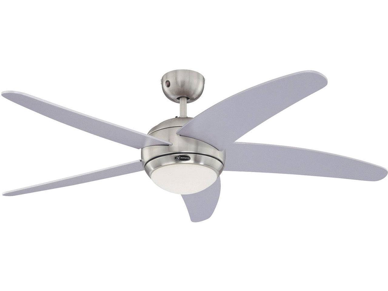 Stropní ventilátor s osvětlením PROKLIMA Fabolia, 132 cm