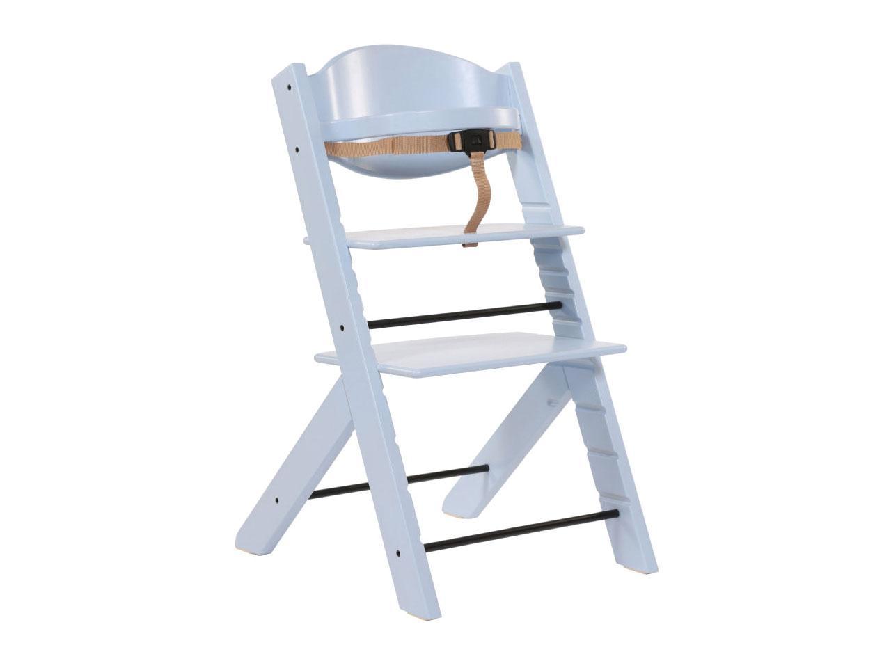 Jídelní židlička TREPPY, pastelově modrá