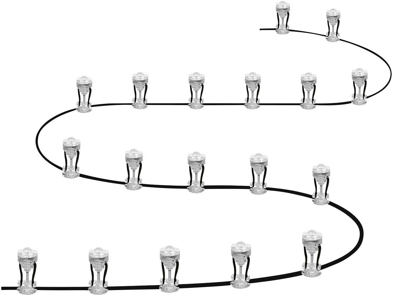 Světelný řetěz LEDVANCE Endura Garden, 12 W, 18 ks