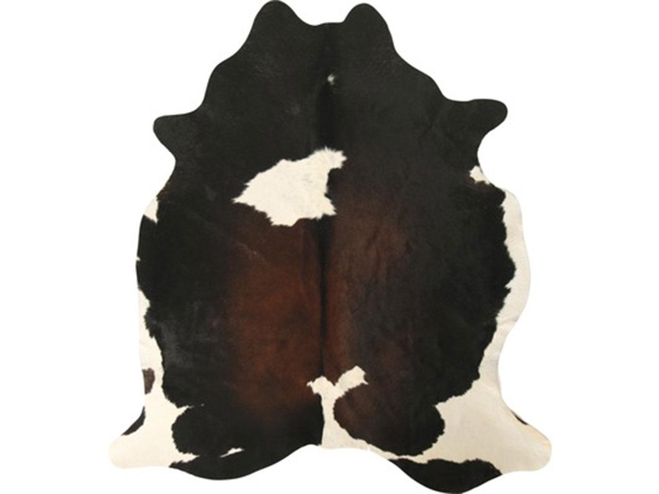 Hovězí kůže ESBECO, tmavě hnědá, od 3,6 do 4,4 m2