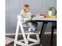 Jídelní židlička ROBA Sit Up III lakovaná bílá