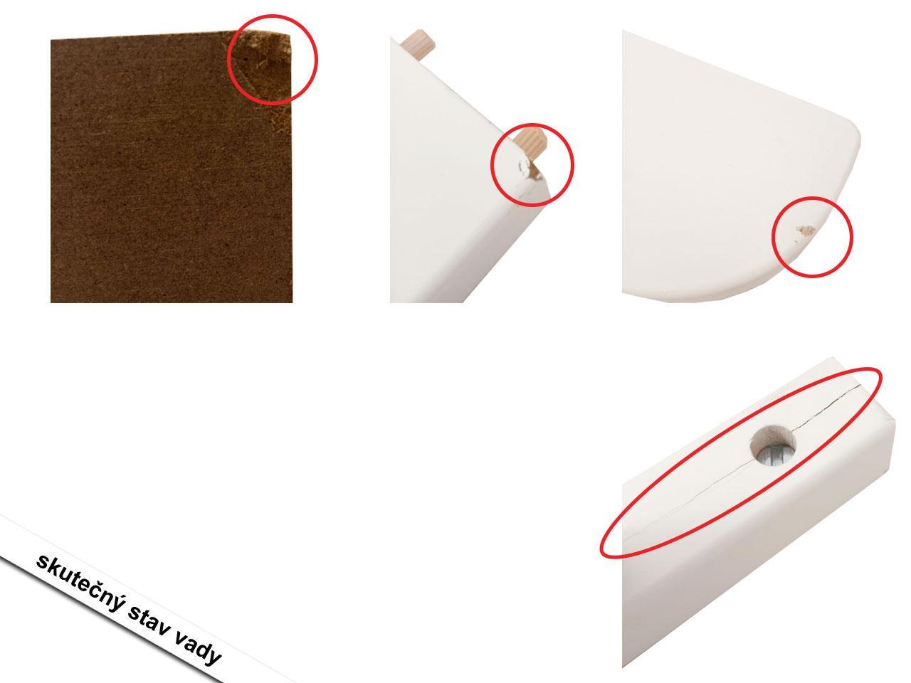 Kolébka s ložní výbavou ROBA, bílá, malé obláčky, růžová