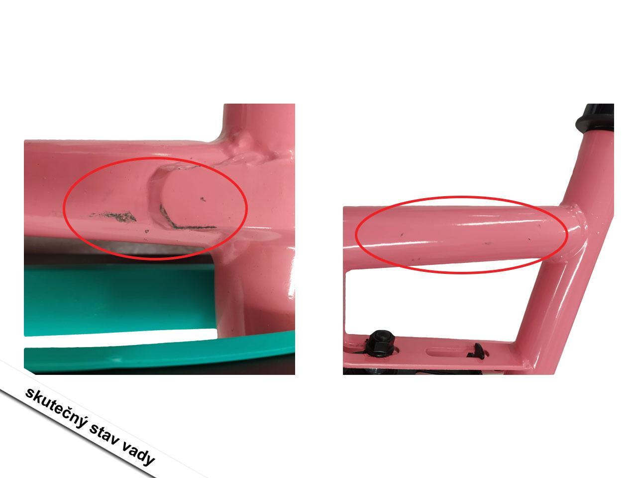Šlapadlo BERG Lua, růžová/mentolová