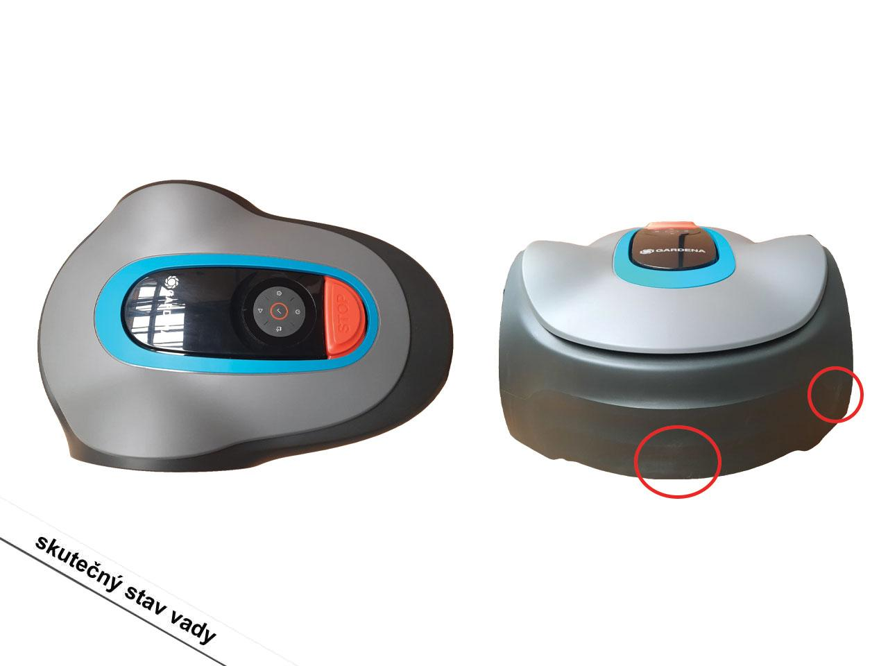 Robotická sekačka GARDENA Sileno Minimo 250 (15201-32)