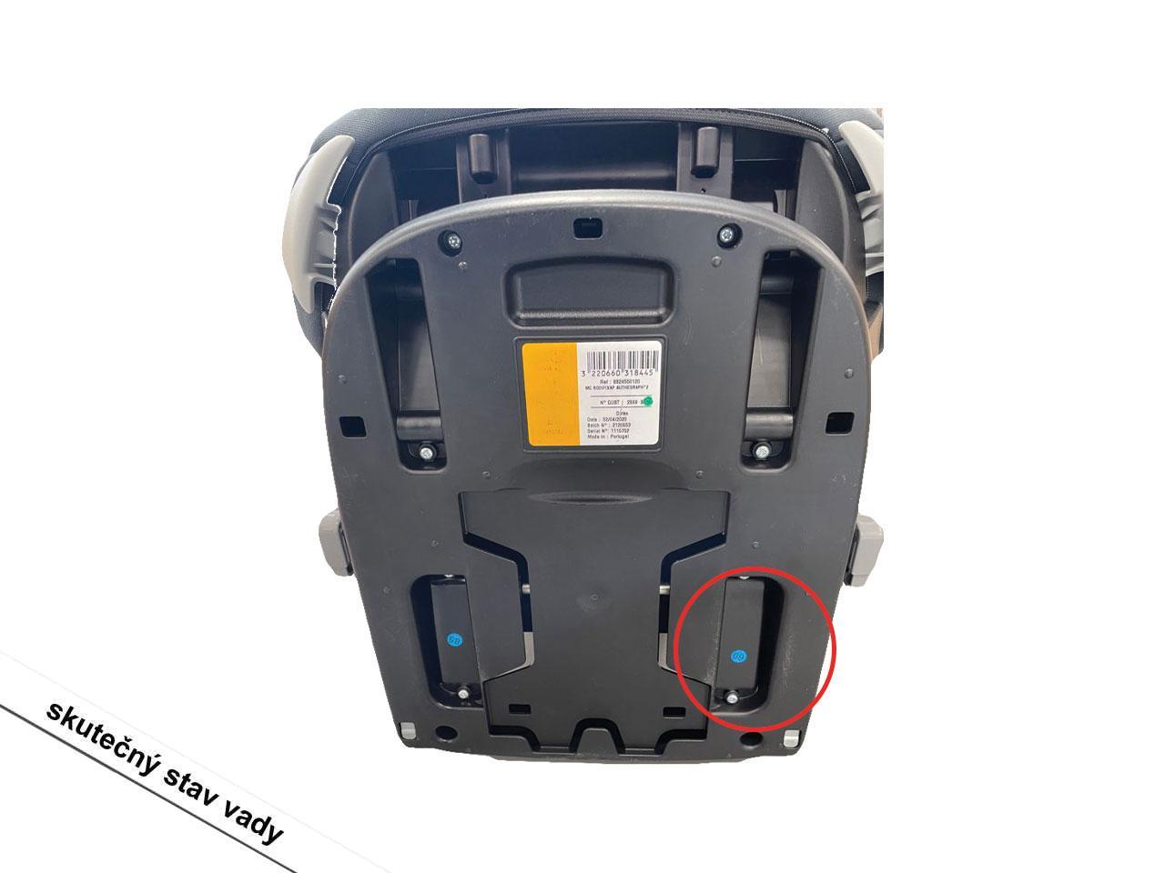 Autosedačka MAXI-COSI RodiFix Airprotect, Authentic Graphite