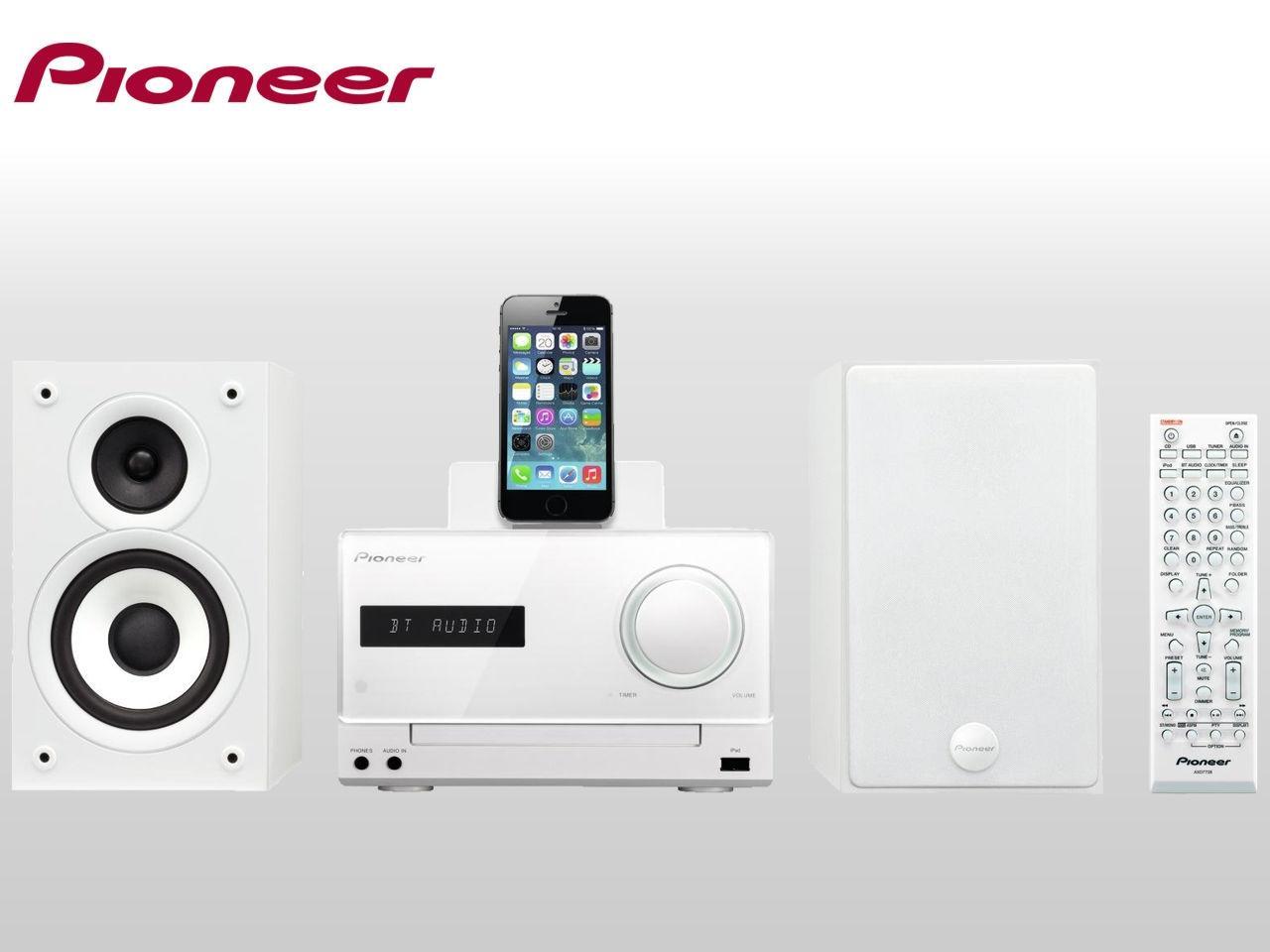 PIONEER X-CM42BT-W + 200 Kč na dárky nebo další nákup | CHAT on-line podpora PO-PÁ 8-22.00!!